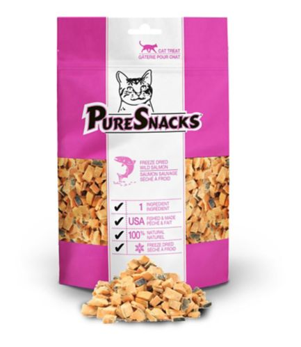 PureSnacks Salmon Cat Treats, 23-g