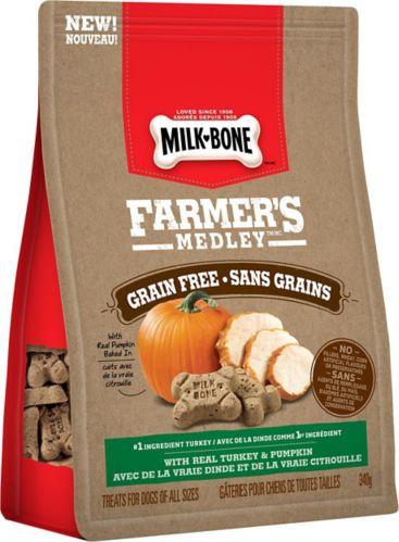 Gâteries pour chiens Milkbone, Farmer's Medley, 340 g Image de l'article