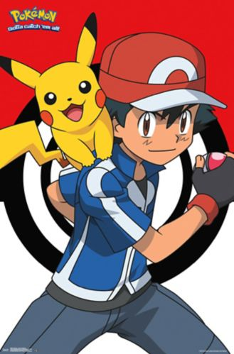 Pokémon Poster, 23 x 34-in Product image