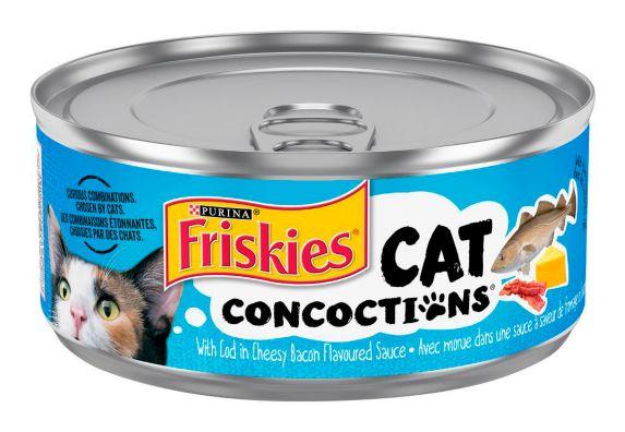 Friskies Cat Concoctions, 156-g