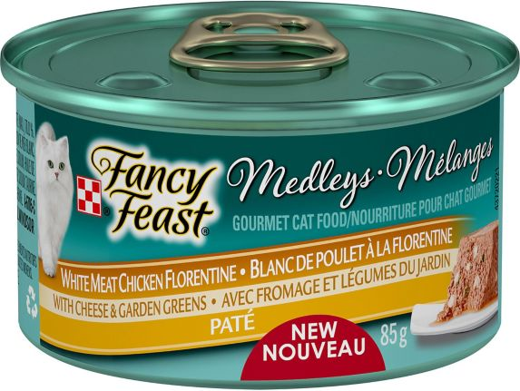Nourriture pour chats Fancy Feast Mélanges, 85 g Image de l'article