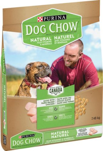 Purina Dog Chow Naturals Dog Food, 7.48-kg