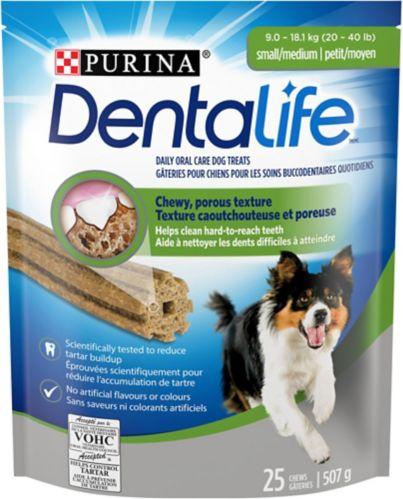 DentaLife Small and Medium Dog Treats, 507-g