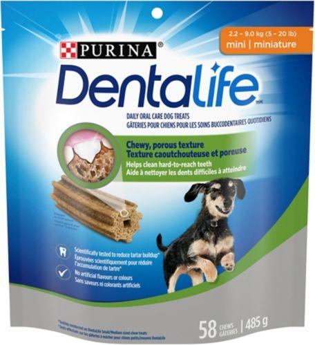 Mini gâteries pour chiens DentaLife, 485 g Image de l'article