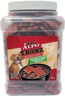 Alpo T Bonz BBQ Pork Cannister, 992-g