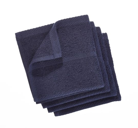 PADERNO Terry Dishcloths, Navy, 4-pk Product image