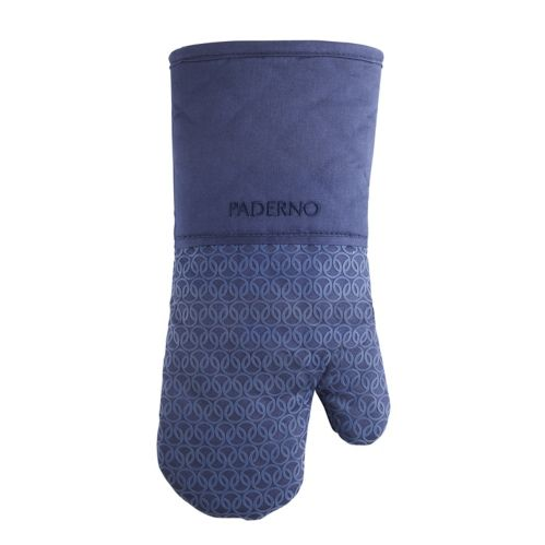 PADERNO Oven Mitt with Silicone Print, Navy Product image