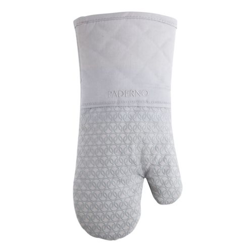 PADERNO Oven Mitt with Silicone Print, Light Grey Product image