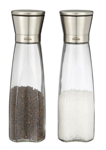 Trudeau Maison Edge Salt & Pepper Grinder Set, 2-pc