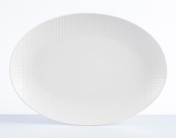 CANVAS Grafton Oval Platter, 18-in