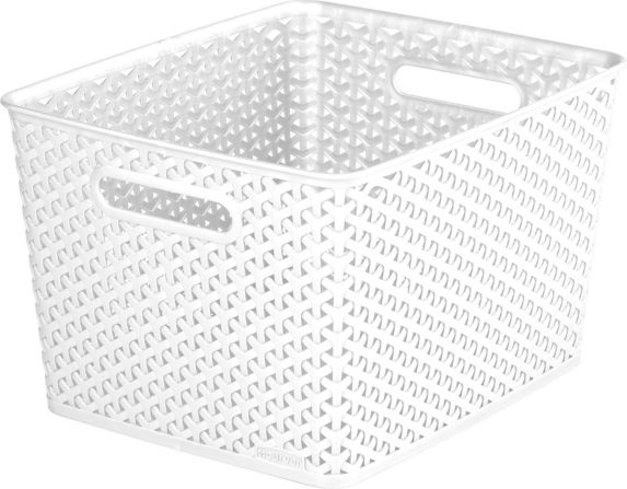 Curver Weave Cube Basket, Small