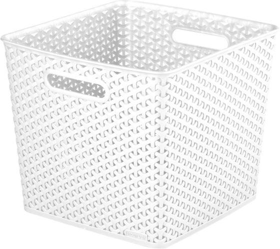 Panier cube tressé Curver, grand Image de l'article