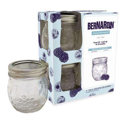 Bernardin Jam Jar, 236-mL