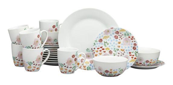 Service de vaisselle CANVAS Meadow, 16 pièces Image de l'article