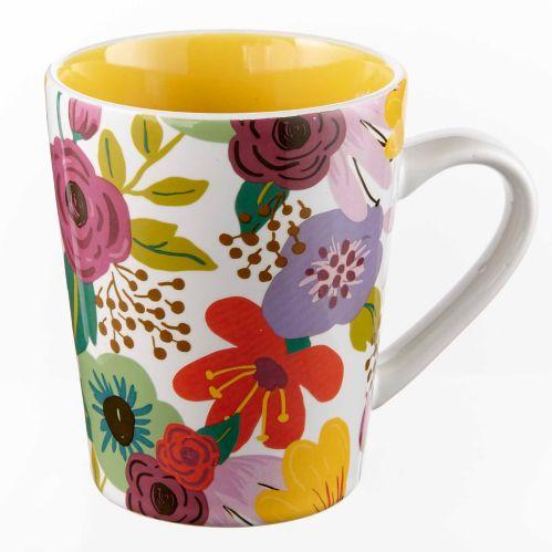 CANVAS Floral Mug, 14-oz Product image