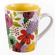 CANVAS Floral Mug, 14-oz
