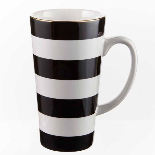 CANVAS Stripe Mug, 15-oz