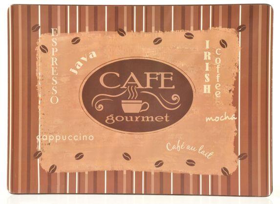 Napperon en liège, café Image de l'article