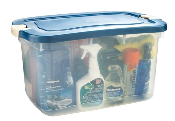 Rubbermaid Clear Roughneck Tote Product image