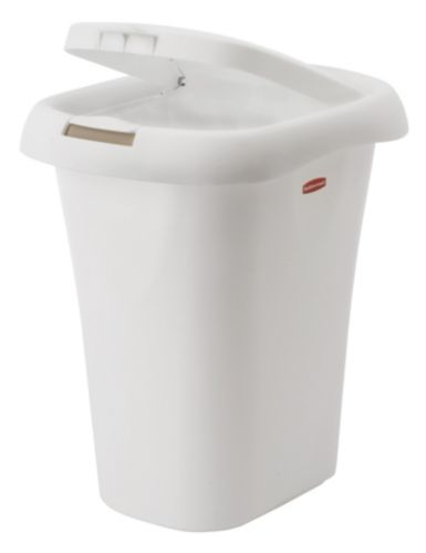 Rubbermaid Spring Top Wastebasket with Linerlock, 19.8-L Product image
