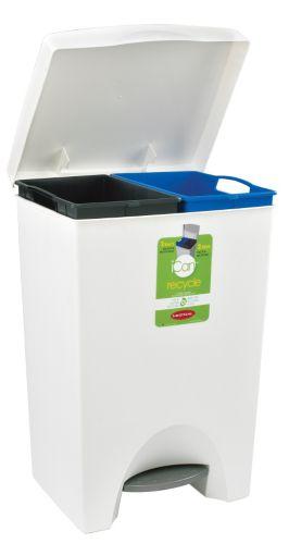 Bac de recyclage Ican à 2 compartiments Image de l'article