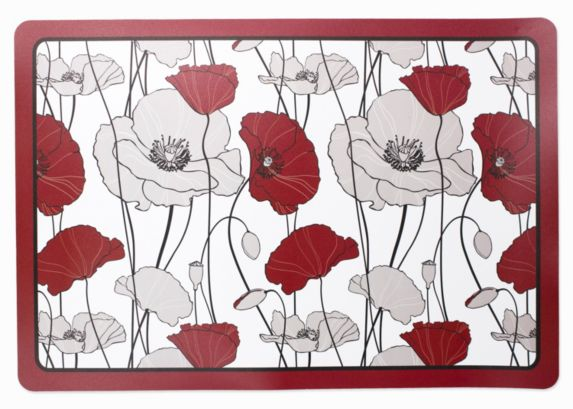 Poppies Foam Back Placemat Product image
