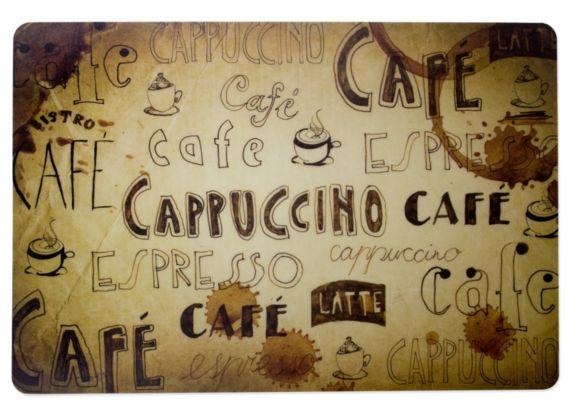 Napperon, envers en mousse, café Image de l'article