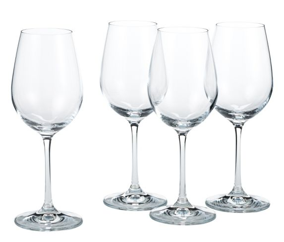 Verres à vin blanc Home Presence, cristallin