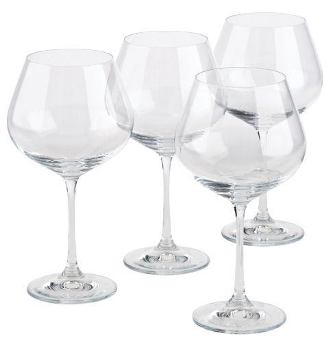 Verres gobelets cristallins à vin de Home Presence Image de l'article