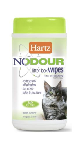 Serviettes nettoyantes Hartz Nodour pour litière Image de l'article