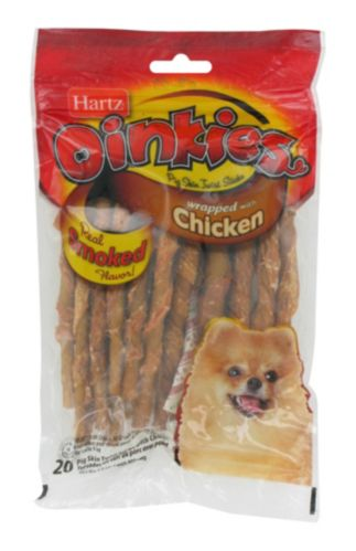 Hartz Oinkies Pig Skin Twists Product image
