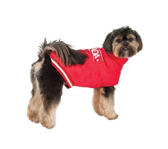 Manteau pour chien Équipe olympique canadienne