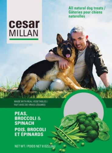 Cesar Millan Peas, Broccoli and Spinach Dog Treats Product image