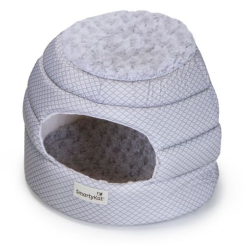 SmartyKat Catnap Convertible Cat Bed