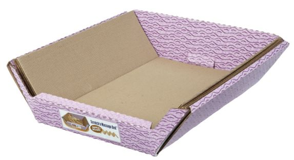 Omega Ripple Cat Board Pet Bed Product image