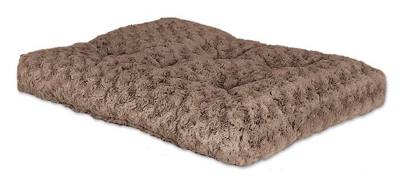 Ombre Swirl Fur Pet Crate Bed, 36-in Product image