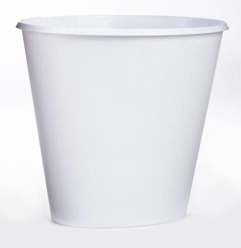 Poubelle élégante Sterilite, blanc, 9 L Image de l'article