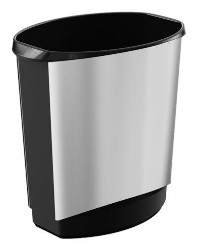 KIS Ovo Waste Bin, Silver, 14-L Product image