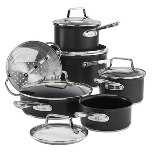 PADERNO Hard Anodized Non-Stick Cookset,12-pc Product image