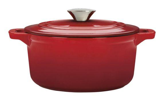 MASTER Chef Round Dutch Oven, Red