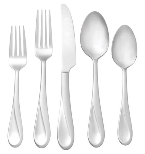 CANVAS Luna 18/10 Stainless Steel Flatware Set, 20-pc Product image