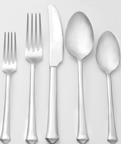 CANVAS Rushton 18/10 Stainless Steel Flatware Set, 20-pc