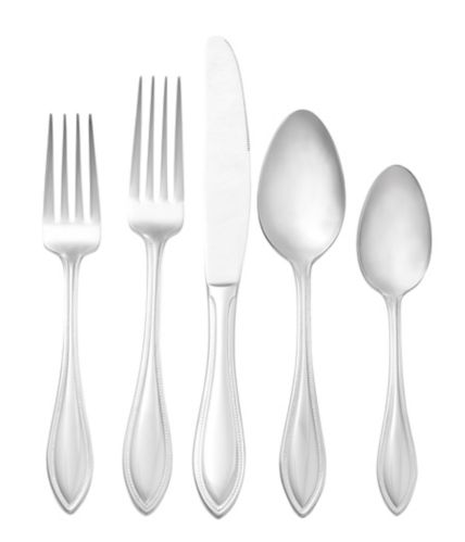 CANVAS Divine 18/10 Stainless Steel Flatware Set, 20-pc Product image