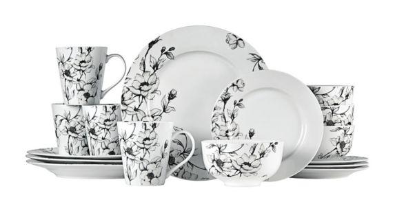 CANVAS Wild Rose Dinnerware Set, 16-pc Product image