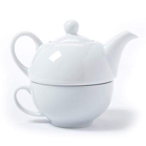 Service à thé pour une personne, 3 pces