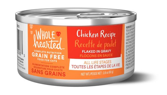 WholeHearted All Life Stages Grain Free Canned Cat Food, Chicken In Gravy Product image