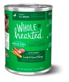 WholeHearted Grain Free Adult Wet Dog Food, Lamb & Carrot, 375-g | WholeHeartednull
