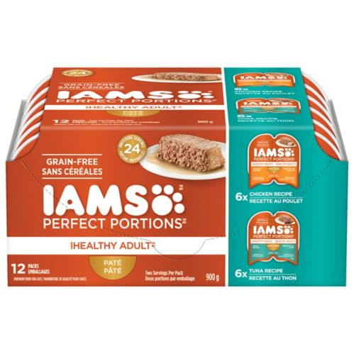IAMS™ Perfect Portions Chicken & Tuna Cat Food, 12-pk Product image