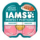 Pâtée au saumon pour chats IAMS Perfect Portions Indoor, 2,6 oz | Iamsnull