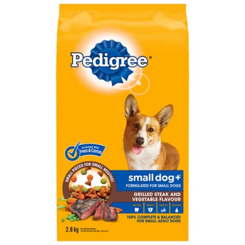 Pedigree Steak & Vegetables Dry Dog Food, 2.8-kg